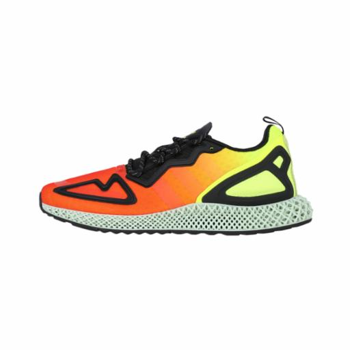 Zapatilla Adidas ZX 2K 4D Solar Yellow / Hi-Res Red / Core Black