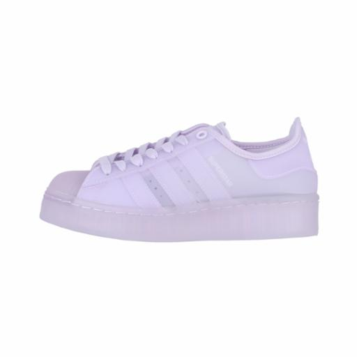 Zapatilla Adidas Wmns Superstar Purple Tint / Cloud White