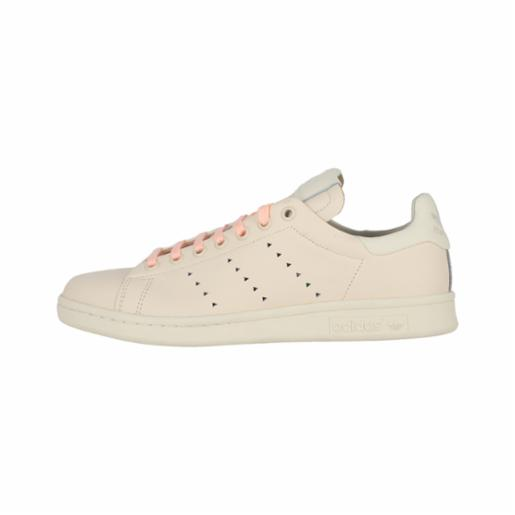 Zapatilla Adidas Pharrell Williams Stan Smith Ecru Tint/Cream White/Clear Brown