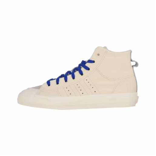 Zapatilla Adidas Pharrell Williams Nizza HI RF Ecru Tint/Cream White/Clear Brown