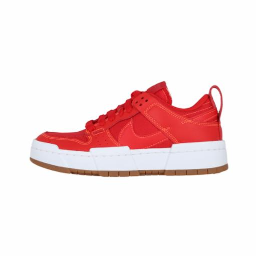 Zapatilla Nike Wmns Dunk Low Disrupt Red/Gum